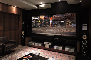 Sala Home Living Hi-fi no Showroom DAG Brasil | Dagson Sales Projetos
