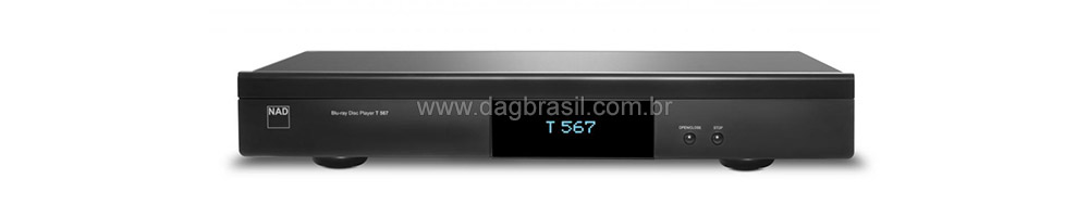 Blu-Ray Player NAD T 567 3D